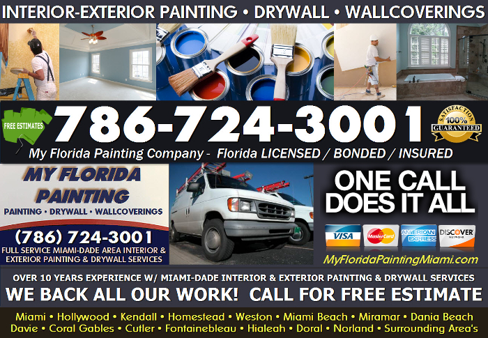 Florida Painting Company - Painting & Drywall Miami FL