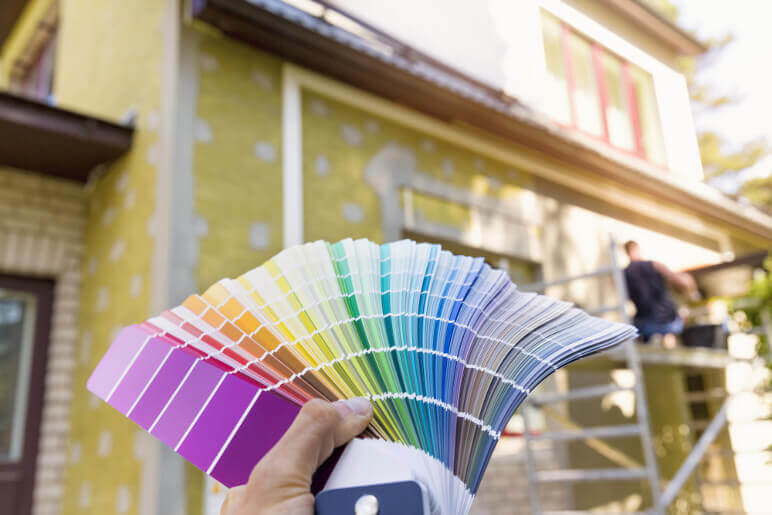 When to Re-paint Exterior of House